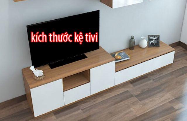 Cách chọn kích thước kệ tivi chuẩn cho mọi không gian.