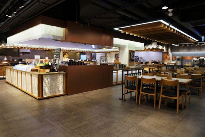 Công ty không gian nhà hàng buffet theo yêu cầu