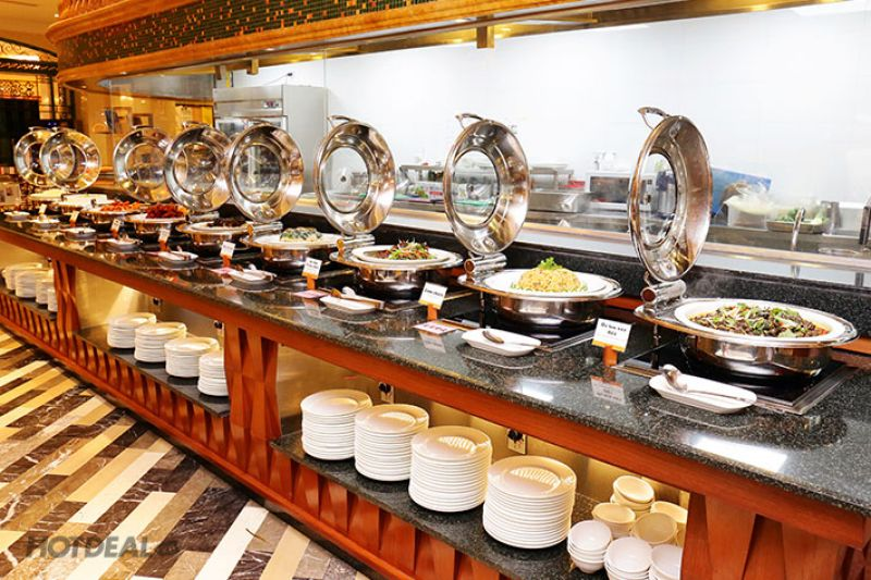 noi that nha hang buffet