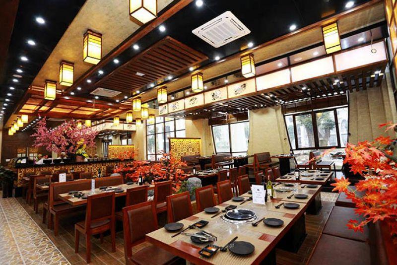 Dịch vụ nội thất nhà hàng buffet hỗ trợ thiết kế