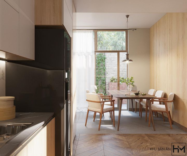 Dịch vụ thiết kế nội thất nhà ở bán cổ điển
