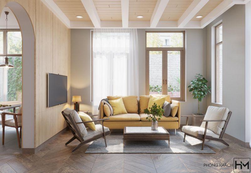 Đơn vị thiết kế thi công nội thất nhà ở nhà phố đẳng cấp