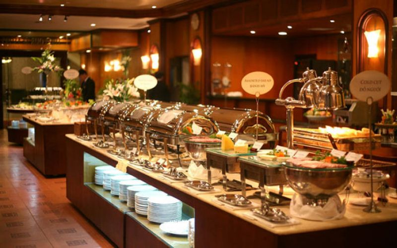 thiet ke noi that nha hang buffet