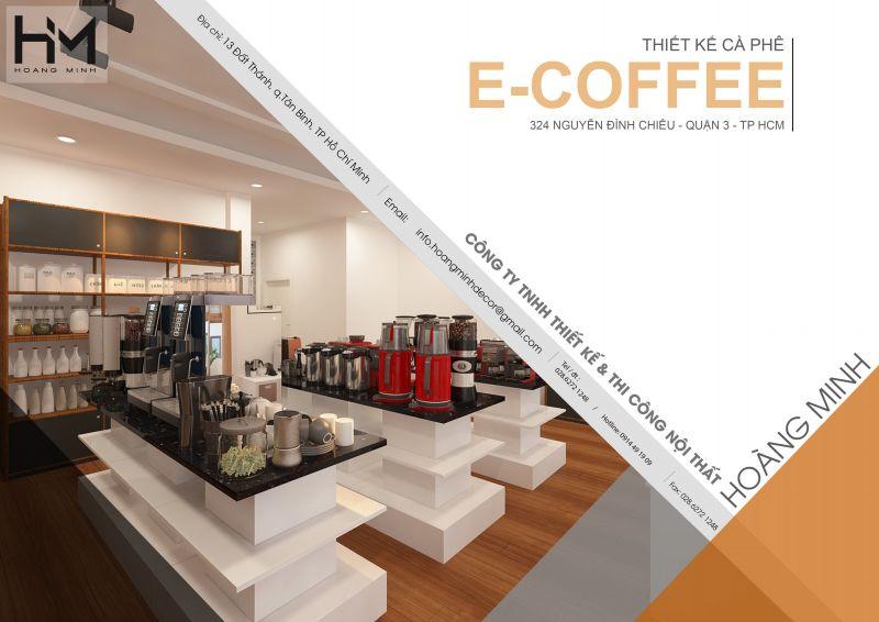 Thiết kế quán cafe Trung Nguyên 540m2