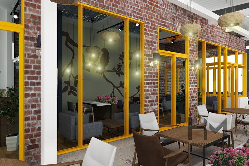 Đơn vị thi công nội thất quán cafe đơn giản miễn phí thiết kế