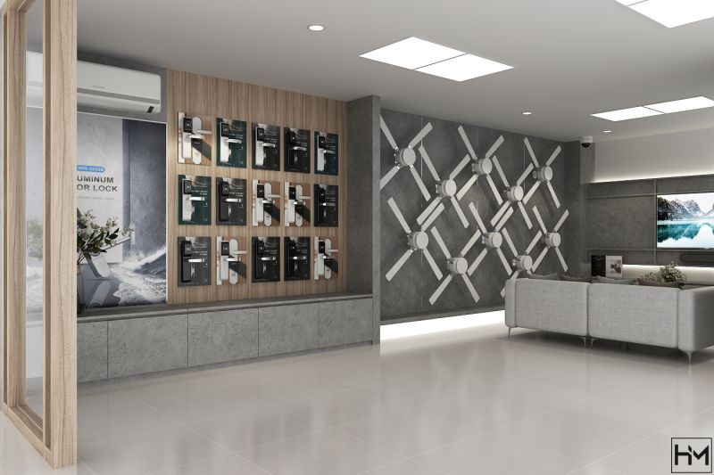 thiet ke showroom Eurocook