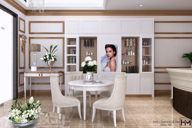 Phong cách thiết kế và thi công không gian spa tư vấn chuyên nghiệp