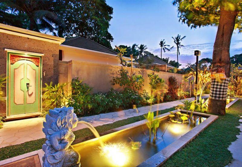 trang tri ngoai that resort