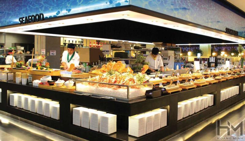 Kích thước bàn buffet tiêu chuẩn là bao nhiêu?