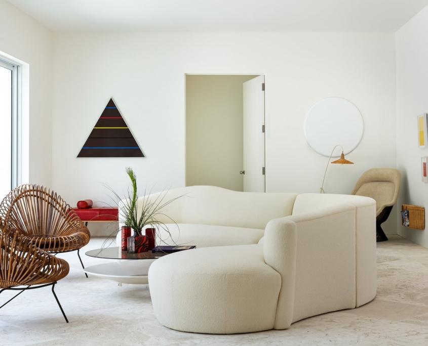 sofa căng tròn