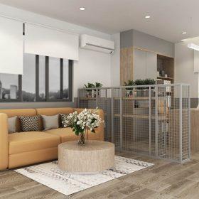 Thiết kế căn hộ Officetel anh Hải