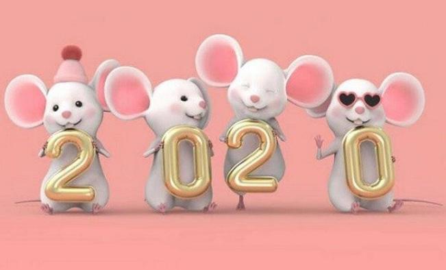 Năm 2020 là năm con chuột - canh tý 2020.