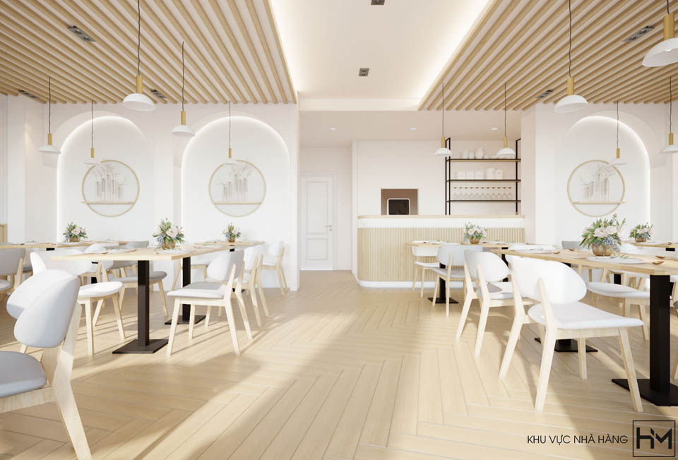 Thiết kế nhà hàng VINASIA
