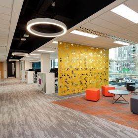 Thiết kế Pantry văn phòng hiện đại.