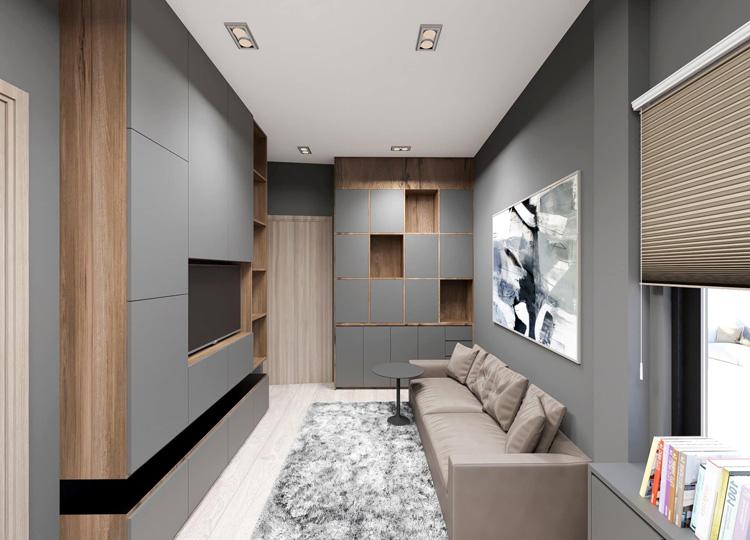 Giá thiết kế thi công nội thất căn hộ quy trình chuyên nghiệp