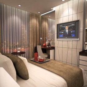Thiết kế nội thất phòng ngủ khách sạn 3 sao được yêu thích nhất.