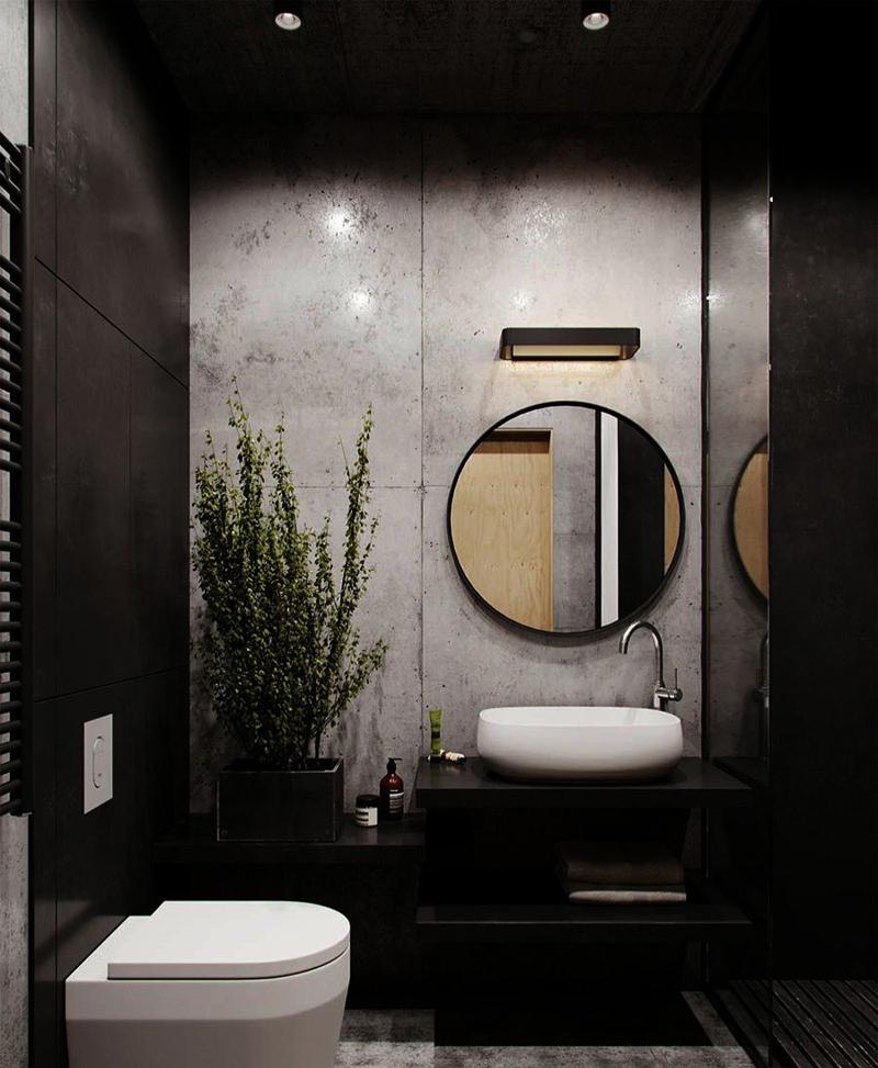 phong wc khach san hien dai