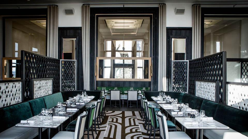 Công ty thiết kế không gian nhà hàng kiểu Pháp
