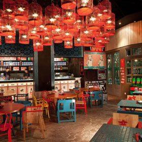 Thiết kế nhà hàng Trung Hoa đẹp.