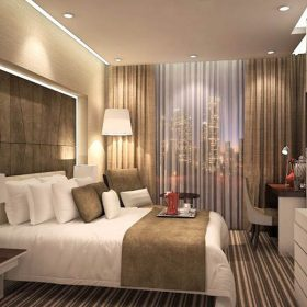 Thiết kế nội thất khách sạn 3 sao cao cấp.