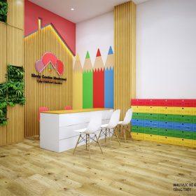 Thiết kế nội thất trường học chuyên nghiệp