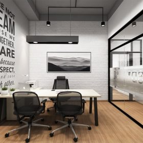 Thiết kế phòng làm việc - nghệ thuật sắp đặt nội thất.