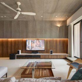 Ý tưởng trang trí tường tivi đẹp, ấn tượng, lôi cuốn.