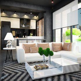 Thiết kế căn hộ Star Hill Quận 7, Anh Hưng, 230m2, hiện đại.