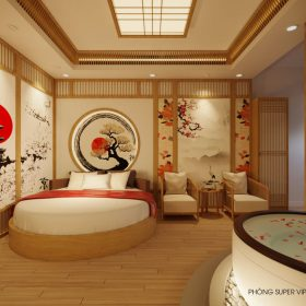 Thiết kế massage Linh Cherry phong cách Nhật 850m2