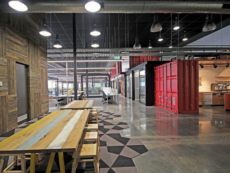 Lợi ích thiết kế nội thất văn phòng công ty thời trang