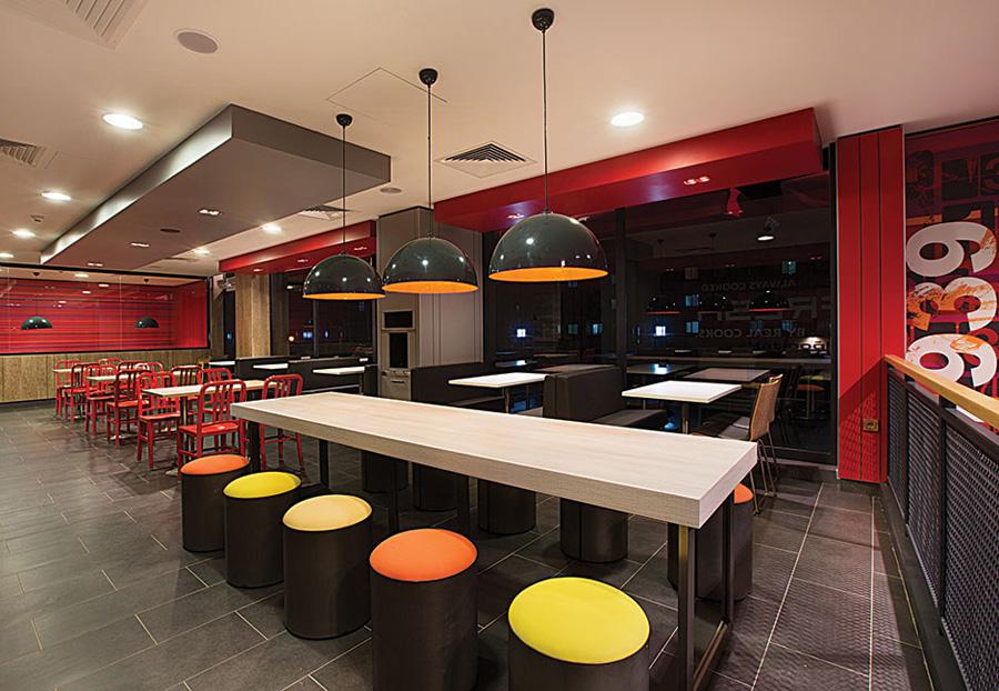 Đơn giá thiết kế thi công không gian nhà hàng thức ăn nhanh