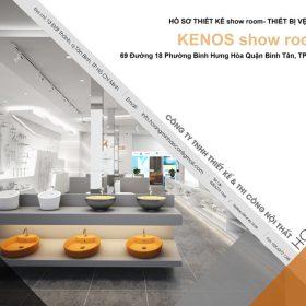 Thiết kế showroom thiết bị vệ sinh Kenos
