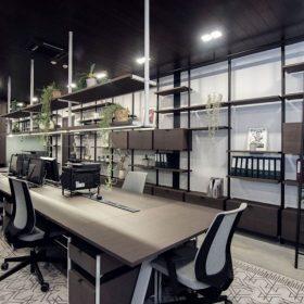 Thiết kế văn phòng công ty thực phẩm hợp công năng.