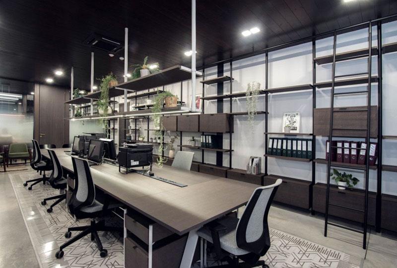 Giá thi công văn phòng nội thất hiện đại