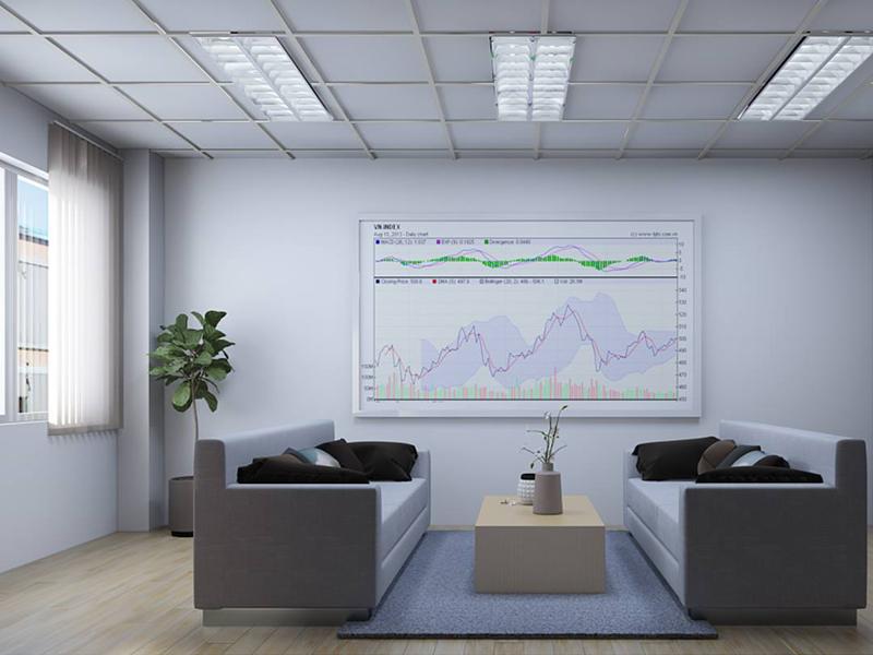 Tìm hiểu thiết kế không gian văn phòng làm việc bất động sản