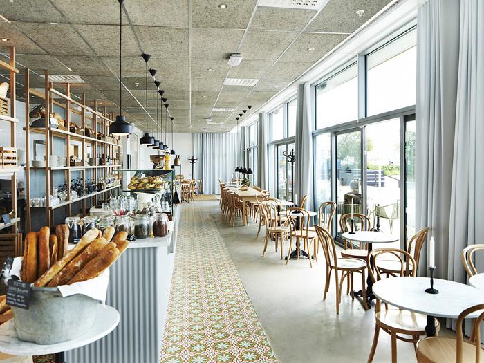 mau thiet ke quan cafe Scandinavian