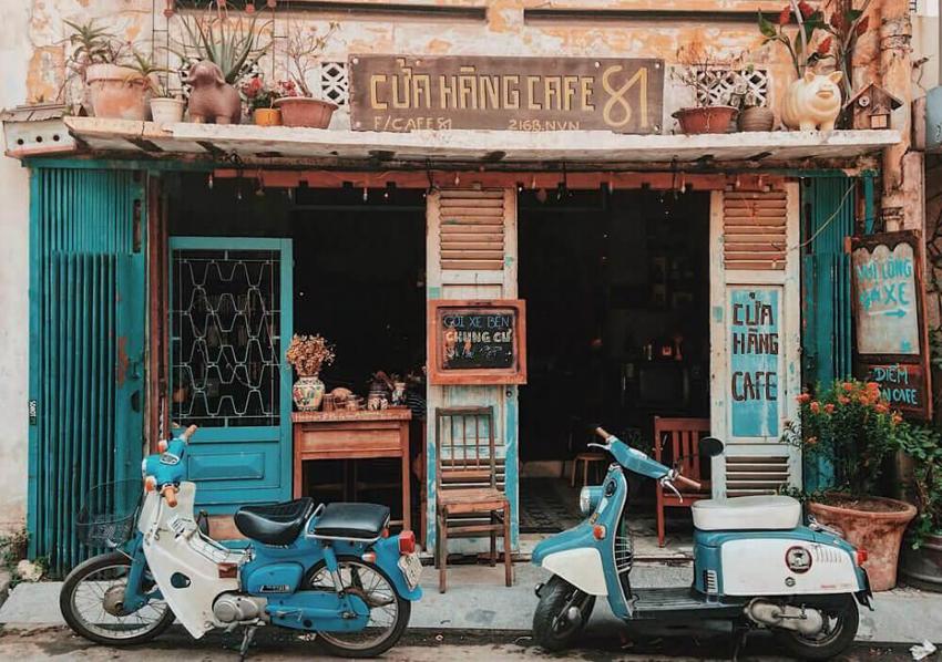 quan cafe vintage tphcm