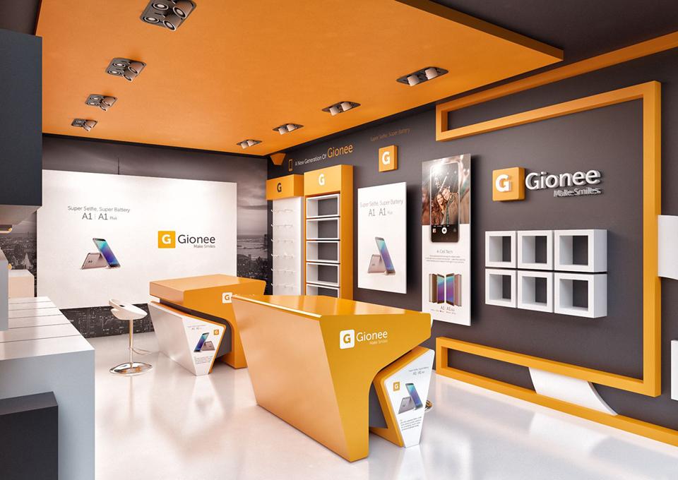 Đơn giá thiết kế thi công nội thất cửa hàng điện thoại cuốn hút