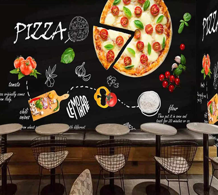 thiet ke nha hang pizza