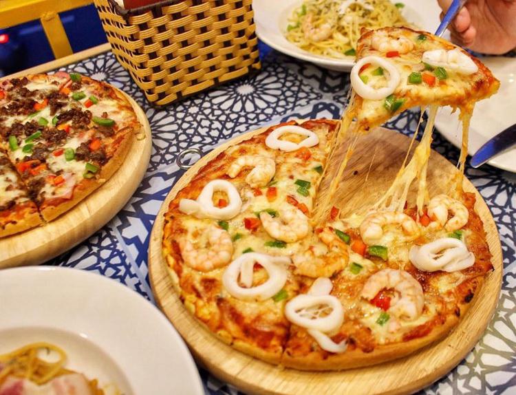 Xu hướng Thiết kế và thi công nội thất nhà hàng Pizza phá cách