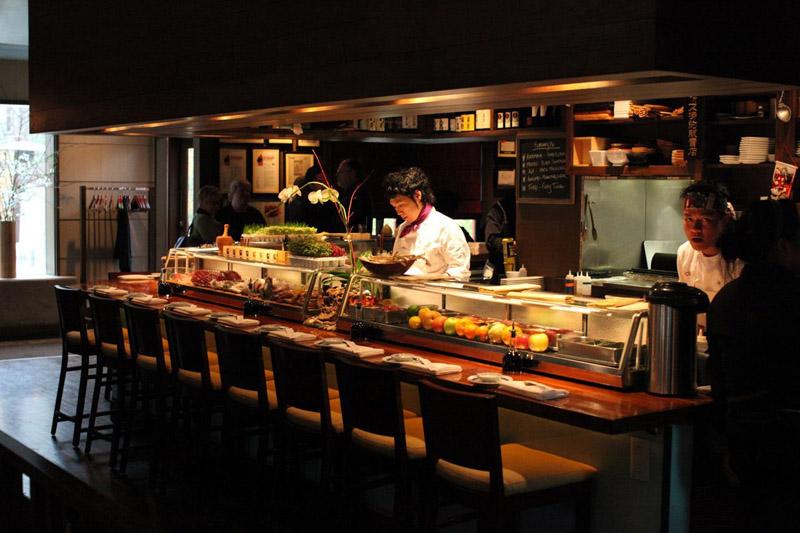Các mẫu Thiết kế nội thất nhà hàng Sushi vượt trội