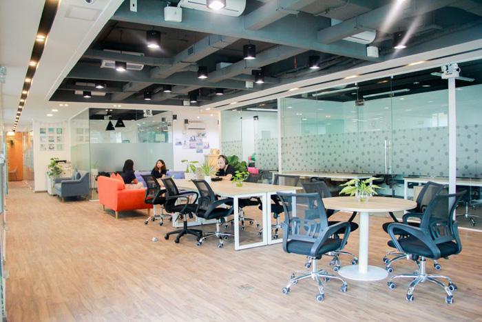 van phong Coworking space