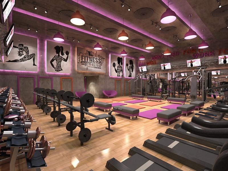 Đơn giá thiết kế không gian phòng Gym, thể hình chuyên môn cao