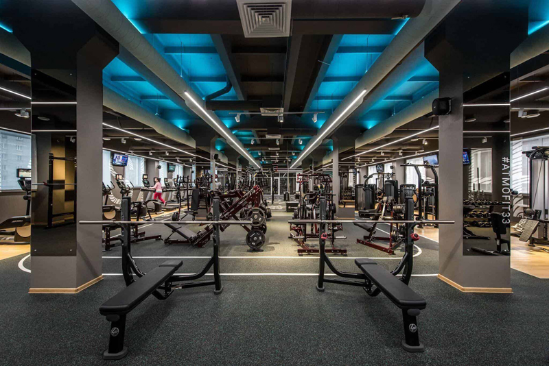 thiet ke noi that phong Gym